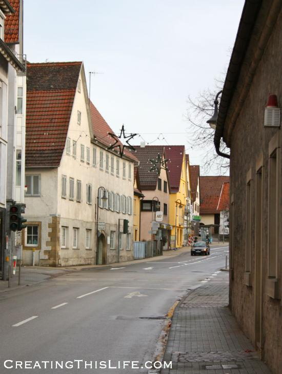 Schwieberdingen Germany Street
