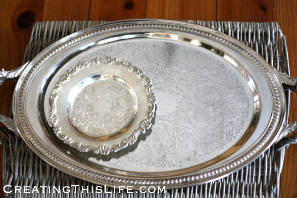 Silver Trays After