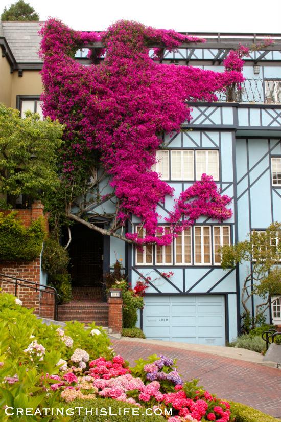 San Francisco-Lombard-Street-Doorway-House