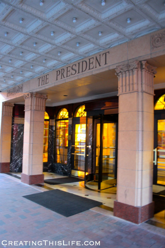 The Historic President Hotel in Kansas City