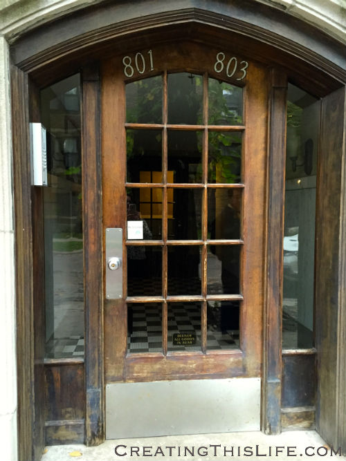 Oak Park Doorway