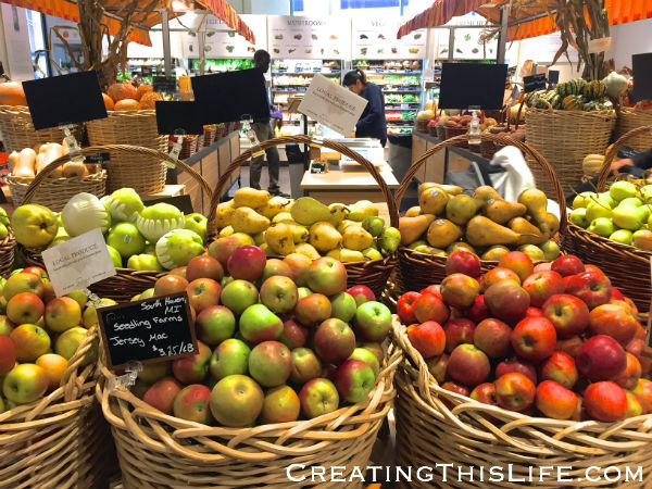 Produce at Eataly Chicago