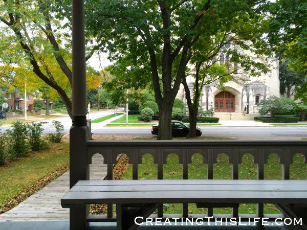 A Fall House Walk Through Oak Park, IL
