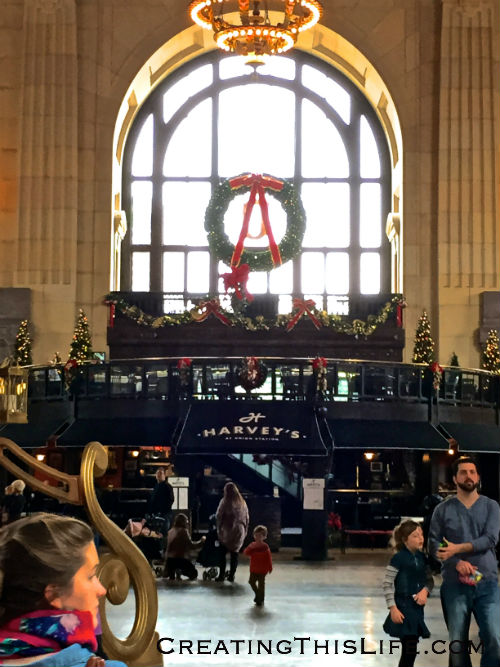 Kansas City Union Station at Christmas