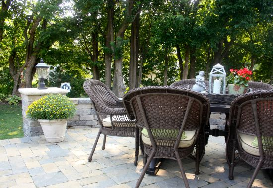 Early September Patio