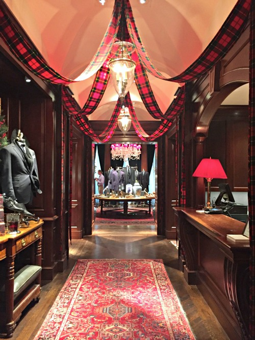Ralph Lauren Store Chicago at Christmas