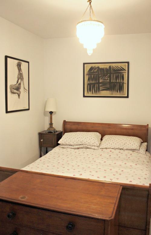 London Flat Master Bedroom