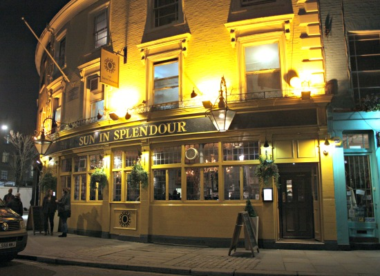 Sun in Splendour Pub London