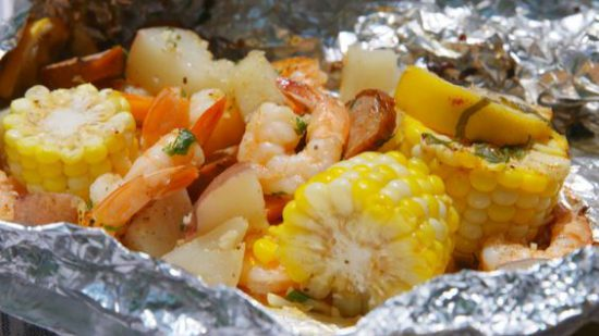 Grilled Shrimp and Sausage Packets Recipe with Some Tweaks