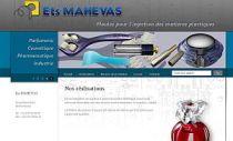 Site Web Mahévas, moules injection plastique