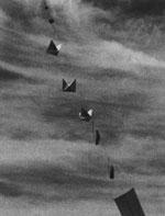 Balões ultra-secretos sendo lançados. Foto US Air Force