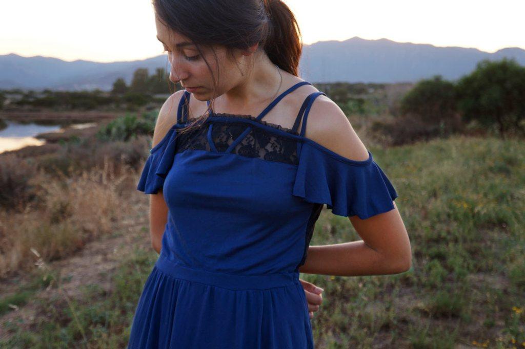 NATI - créations d'une rêveuse | Créatrice de mode | Annecy & Villaz | Robe Emma - les intemporels