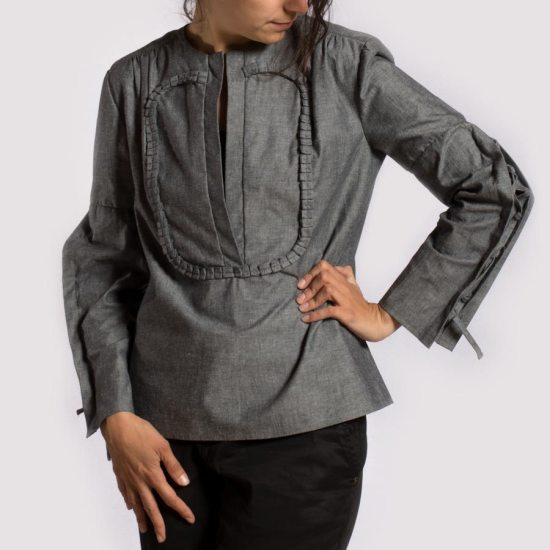 NATI - créations d'une rêveuse | Créatrice de mode | Annecy & Villaz | Boutique | Blouse Alegria - automne hiver 2018