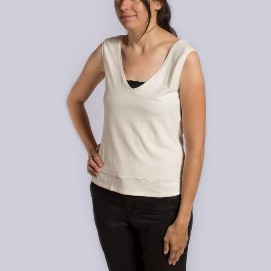 NATI - créations d'une rêveuse   Créatrice de mode   Annecy & Villaz   Boutique   Top Junie - Hors Série - Modèle éco-responsable