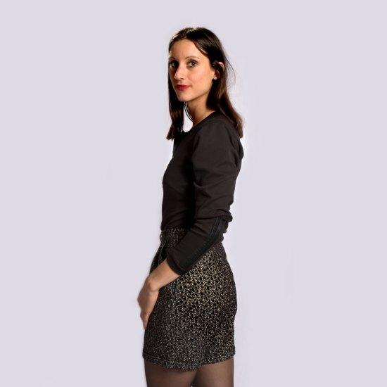 NATI - créations d'une rêveuse | Créatrice de mode | Annecy & Villaz | Boutique | Short Roxane et body Amy - Automne-Hiver 2019