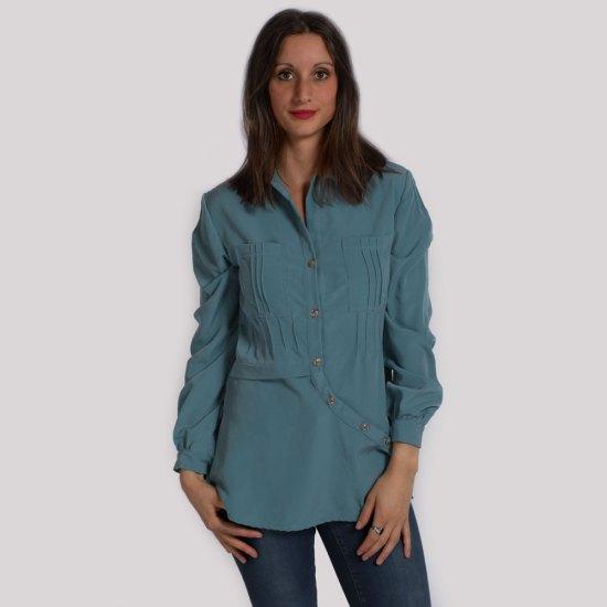 NATI - créations d'une rêveuse | Créatrice de mode & prêt à porter féminin | Annecy & Villaz | Boutique | Chemise Rosemary - Automne-Hiver 2019