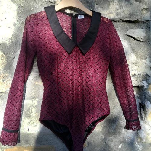 NATI, créations d'une rêveuse - prêt à porter féminin, vêtements pour femmes - collection automne hiver 2020 - Le body Lilly
