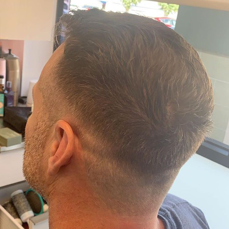 men's haircut in Greenville SC