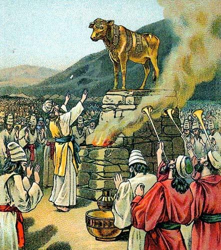 Caananite Golden Calf
