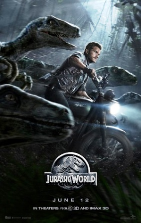 Poster being used to promote Jurassic World. © Universal Pictures