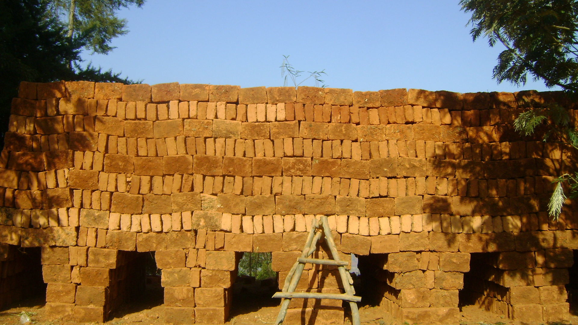 32 - The bricks were used to build the kiln