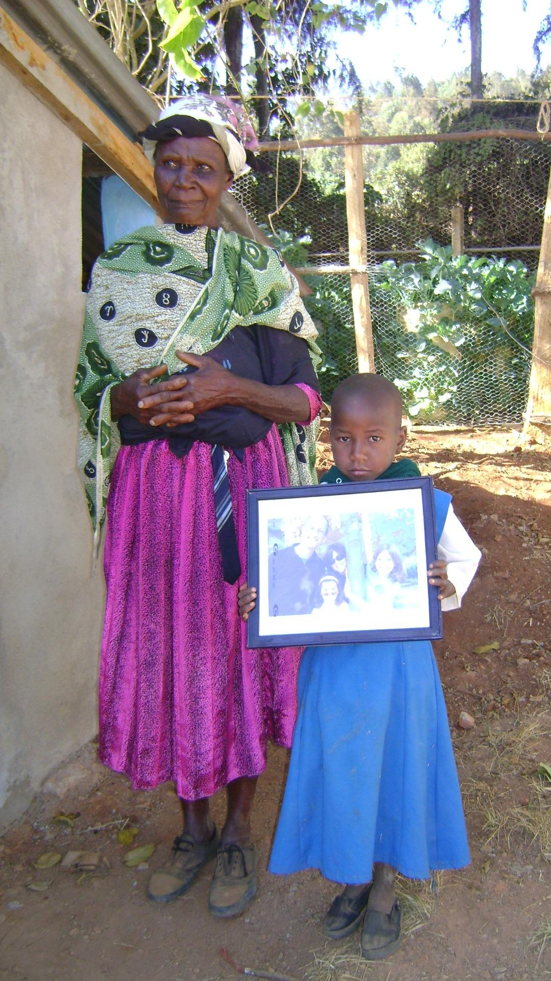 Faith and her grandmother