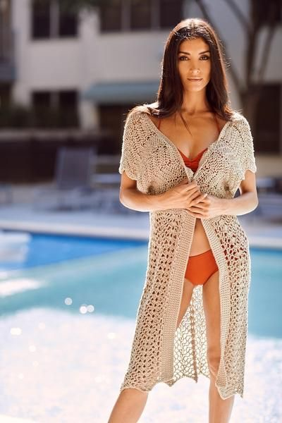 Changing Tides Beach Cover-up by Cre8tion Crochet