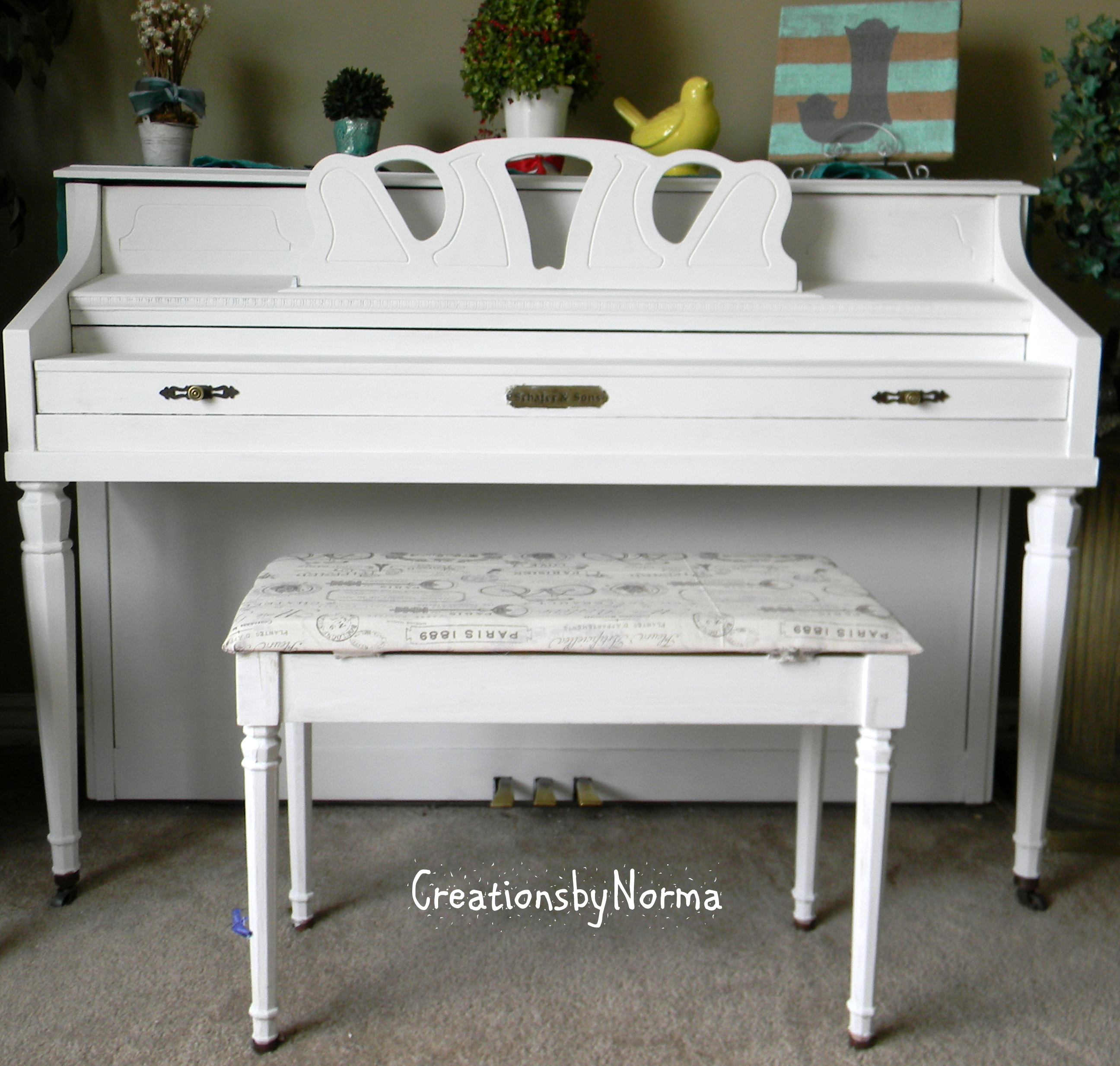 Annie Sloan Chalk Paint Creations By Norma
