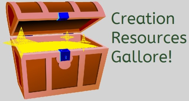 Creation Resources Gallore!