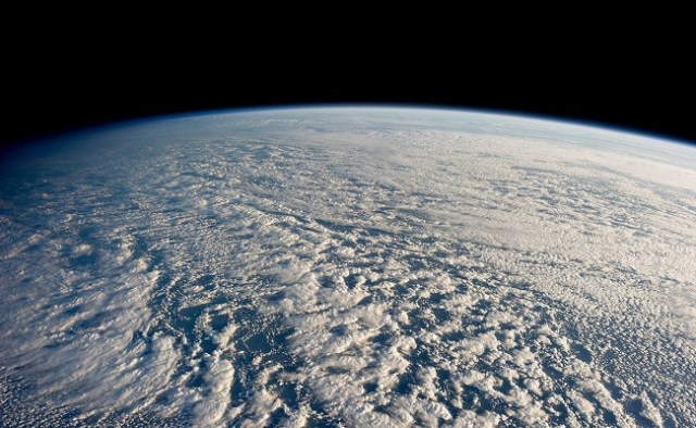 NASA-Clouds seen from the ISS