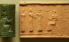Sumerian Cylinder Seal, Flickr, Steve Harris