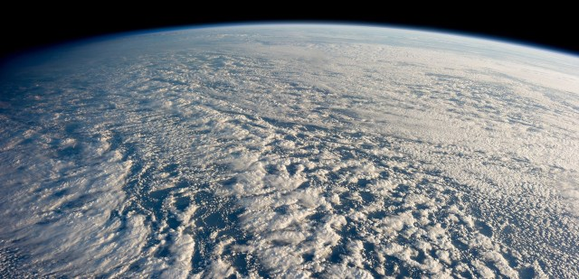 Stratocumulus Clouds as seen from the ISS, photo credit: NASA