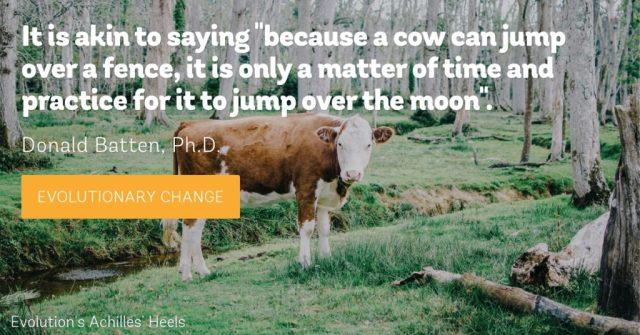 Cow Jumping analogy, Donald Batten, Ph.D.