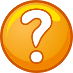 Clickr Question Mark Graphic