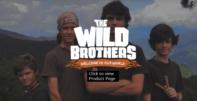 The Wild Brothers: Click to Order from my Affiliate Link