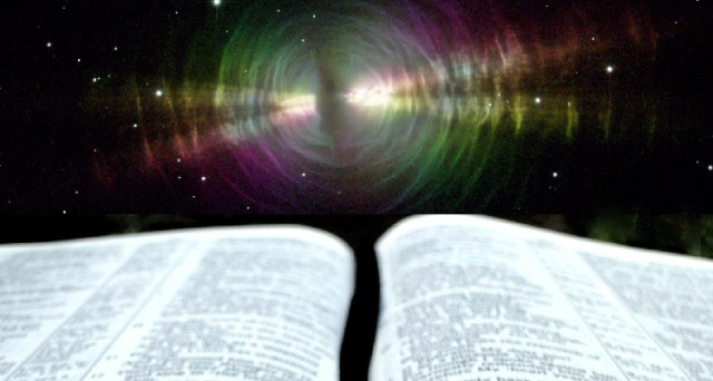 Bible and Nebula Rays