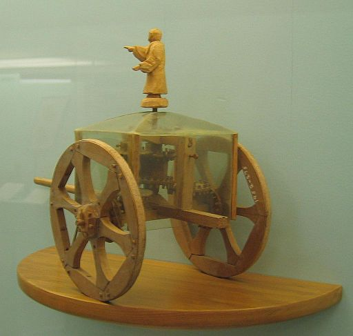 Model south pointing chariot, Photo Credit: Andy Dingley