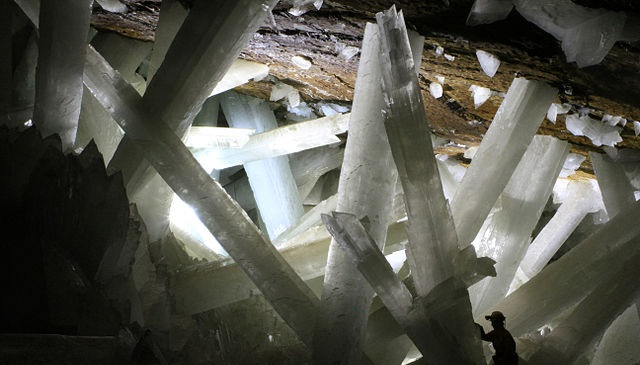 Cave of Crystals, Photo: Alexander Van Driessche
