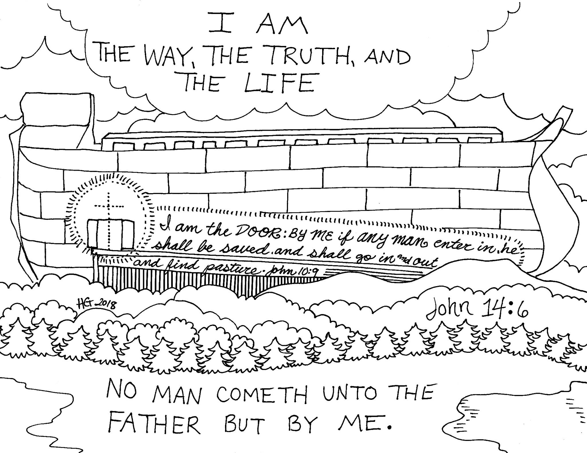 photograph about Noah's Ark Printable referred to as Noahs Ark Printable Coloring Web pages