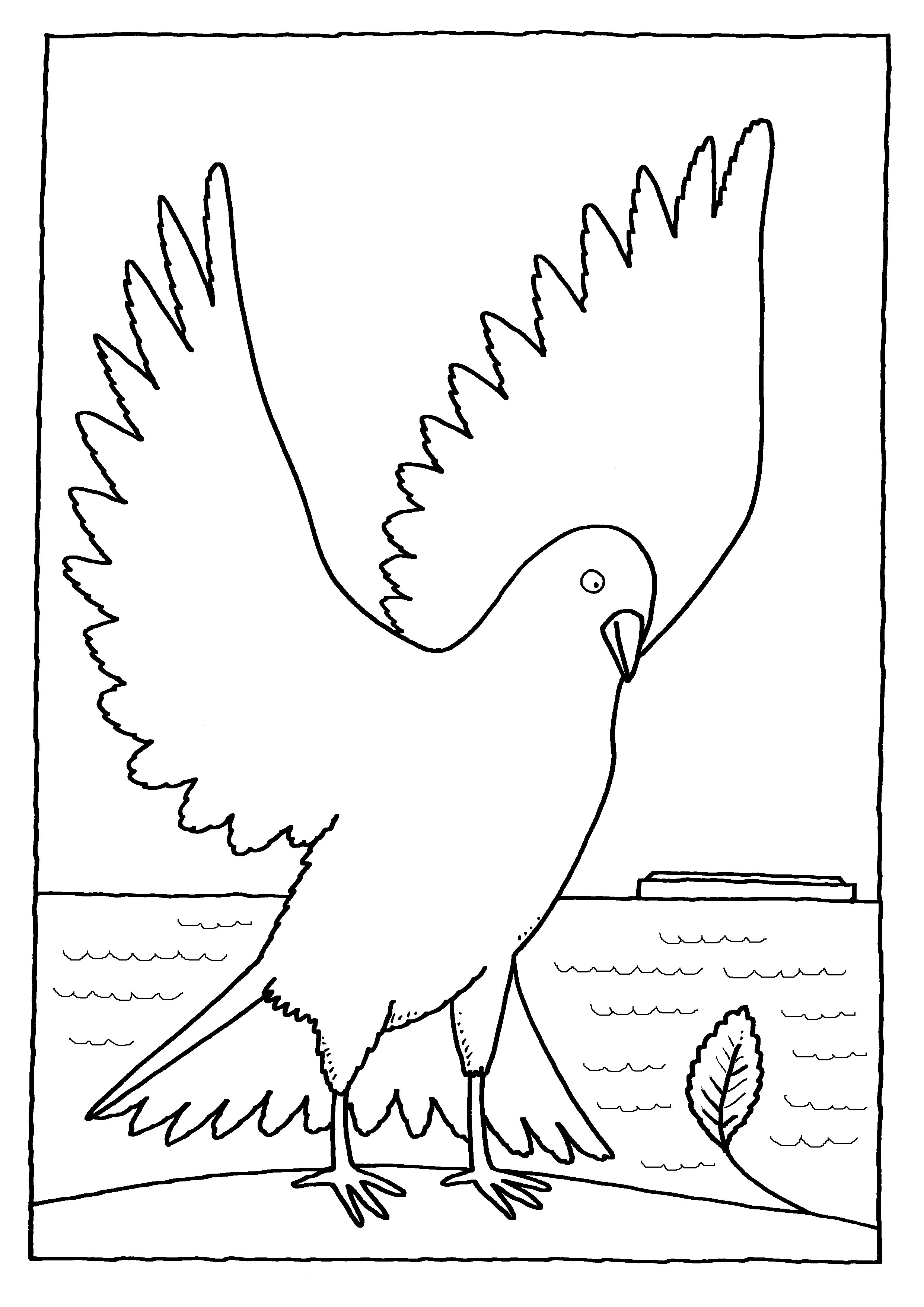 Noah\'s Ark Printable Coloring Pages