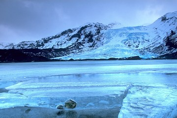 Iceland glacier, photo credit: Andreas Tille