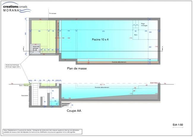 plan piscine