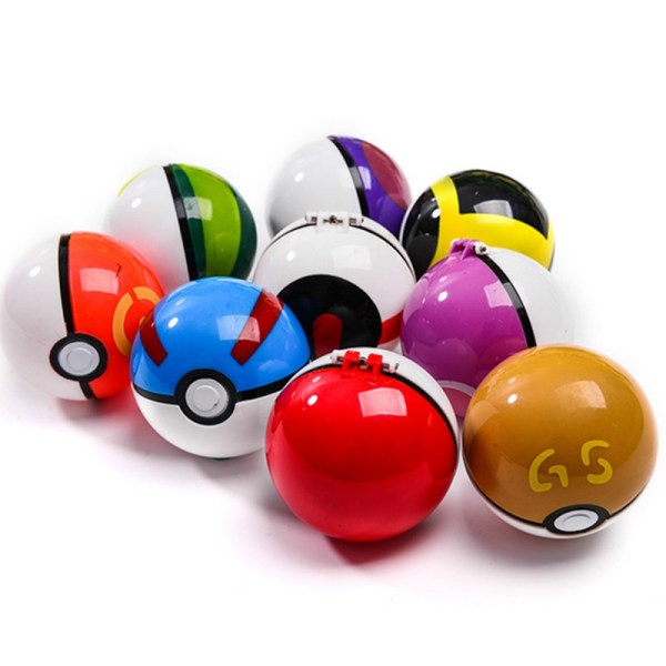 Pokeball and Random Figure Toys 4