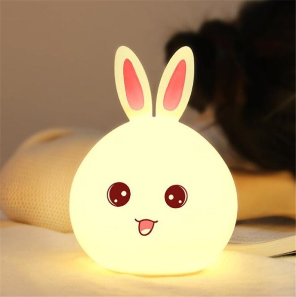Baby's Rabbit Shape LED Night Light 3