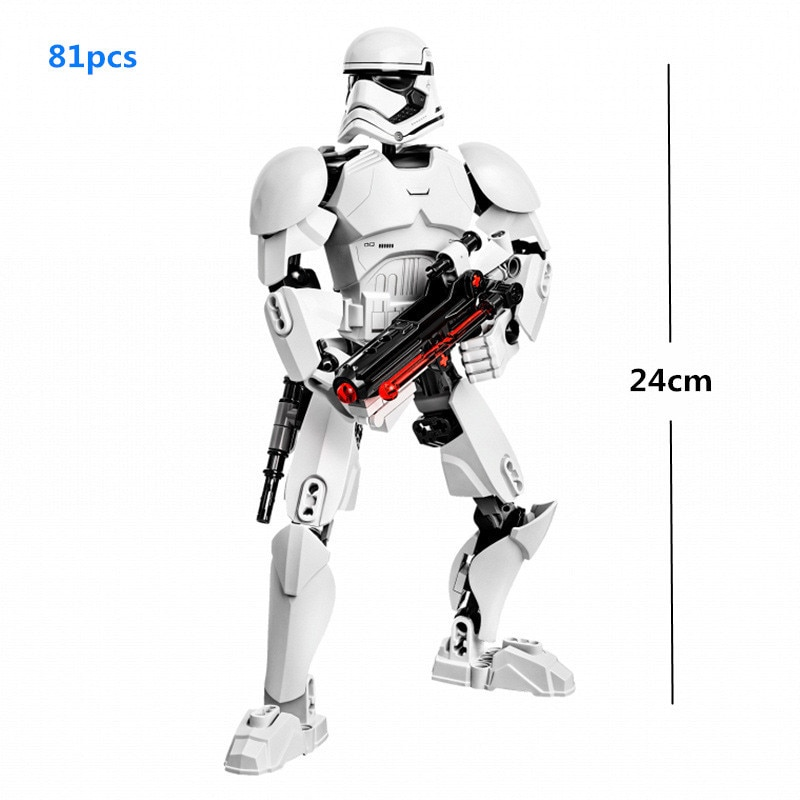 Building Blocks Action Figure for Gaming Room