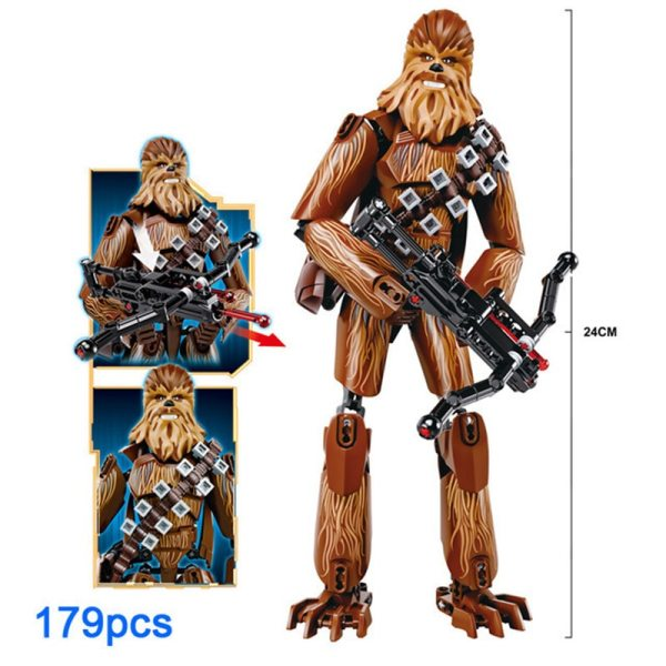 Blocks Star Wars Buildable Action Figure 6