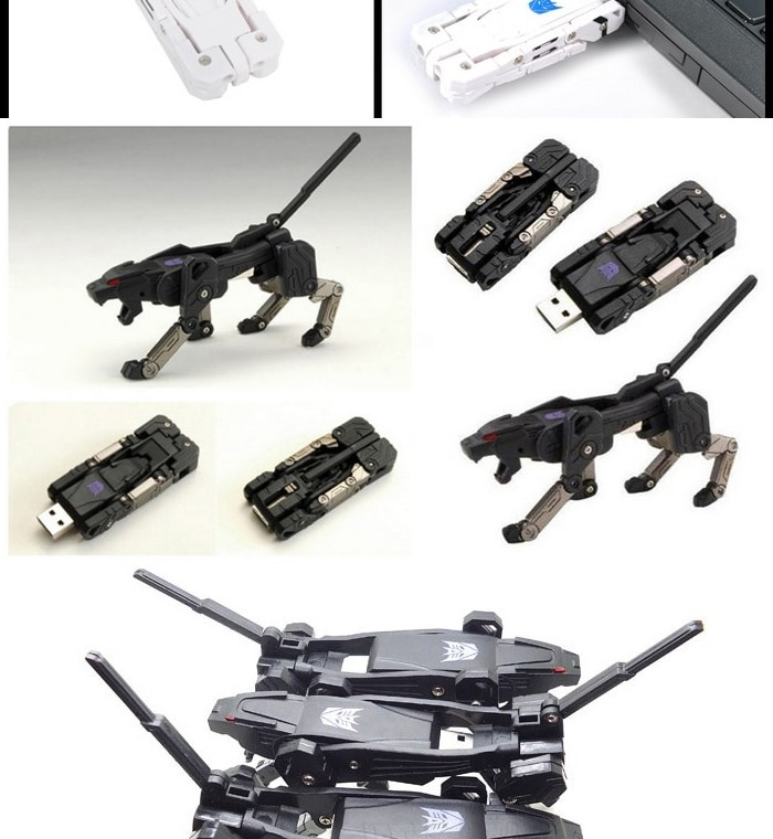Creative Transformer Pen USB Flash Driver