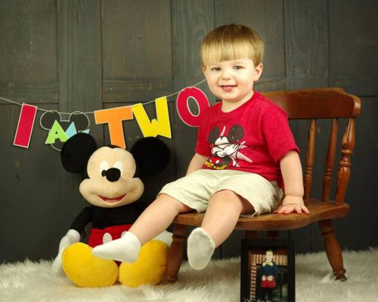 Aiden is two!! (Photo credit: Jill Snyder)