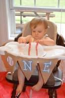 First taste of cake!