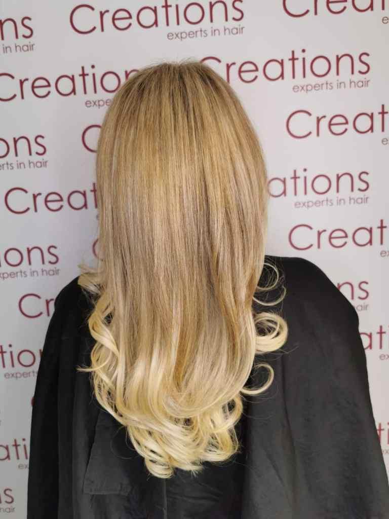 Blonde Raccoon Hair Extensions